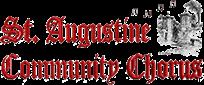 St. Augustine Community Chorus Logo